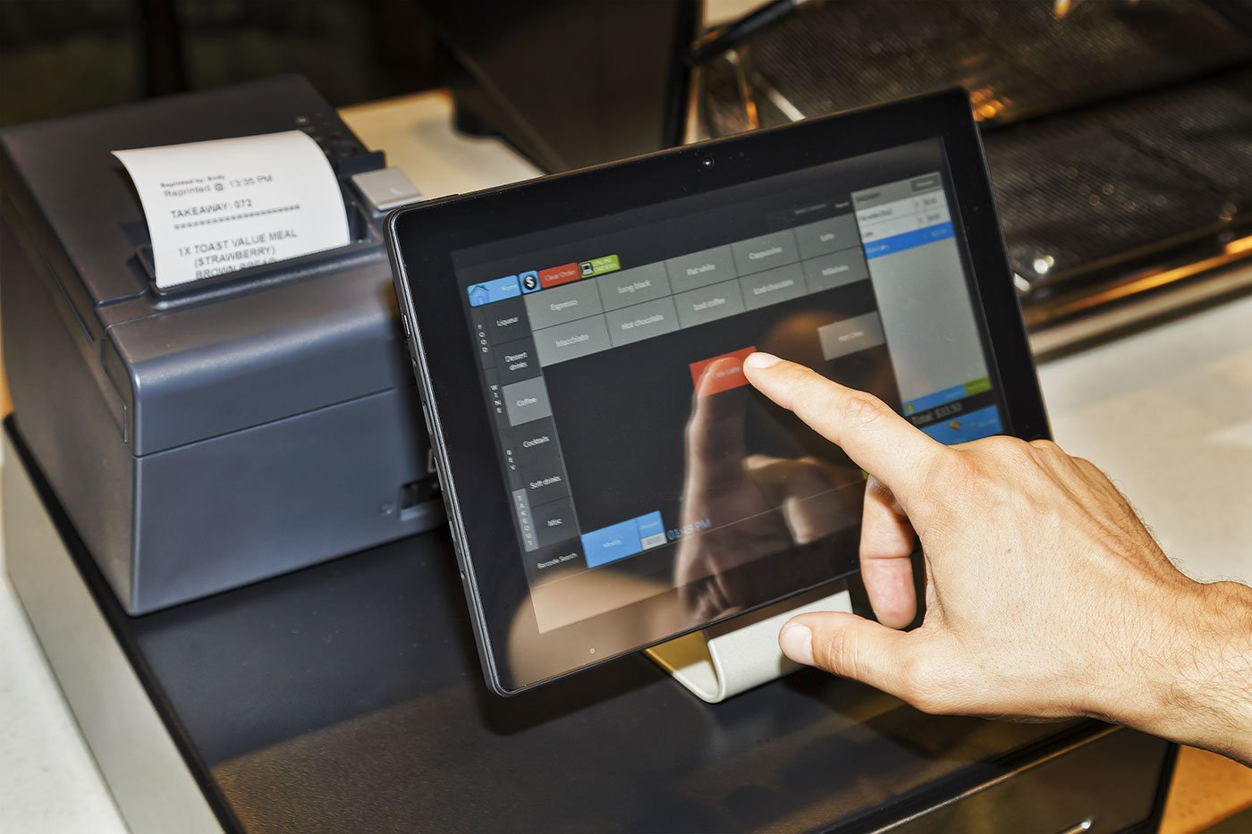 registratori di cassa touch screen roma1