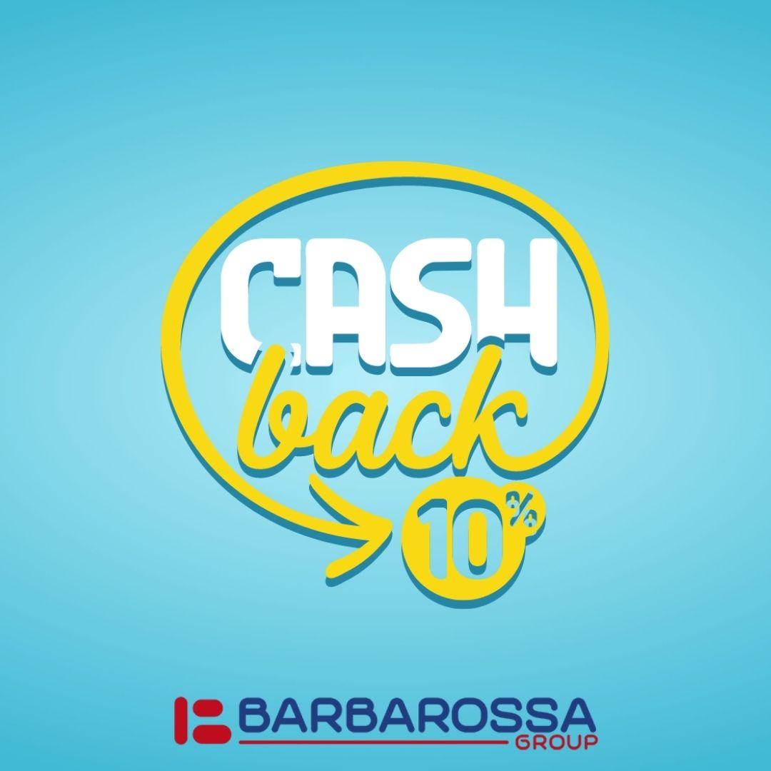 cashback 10% 2021